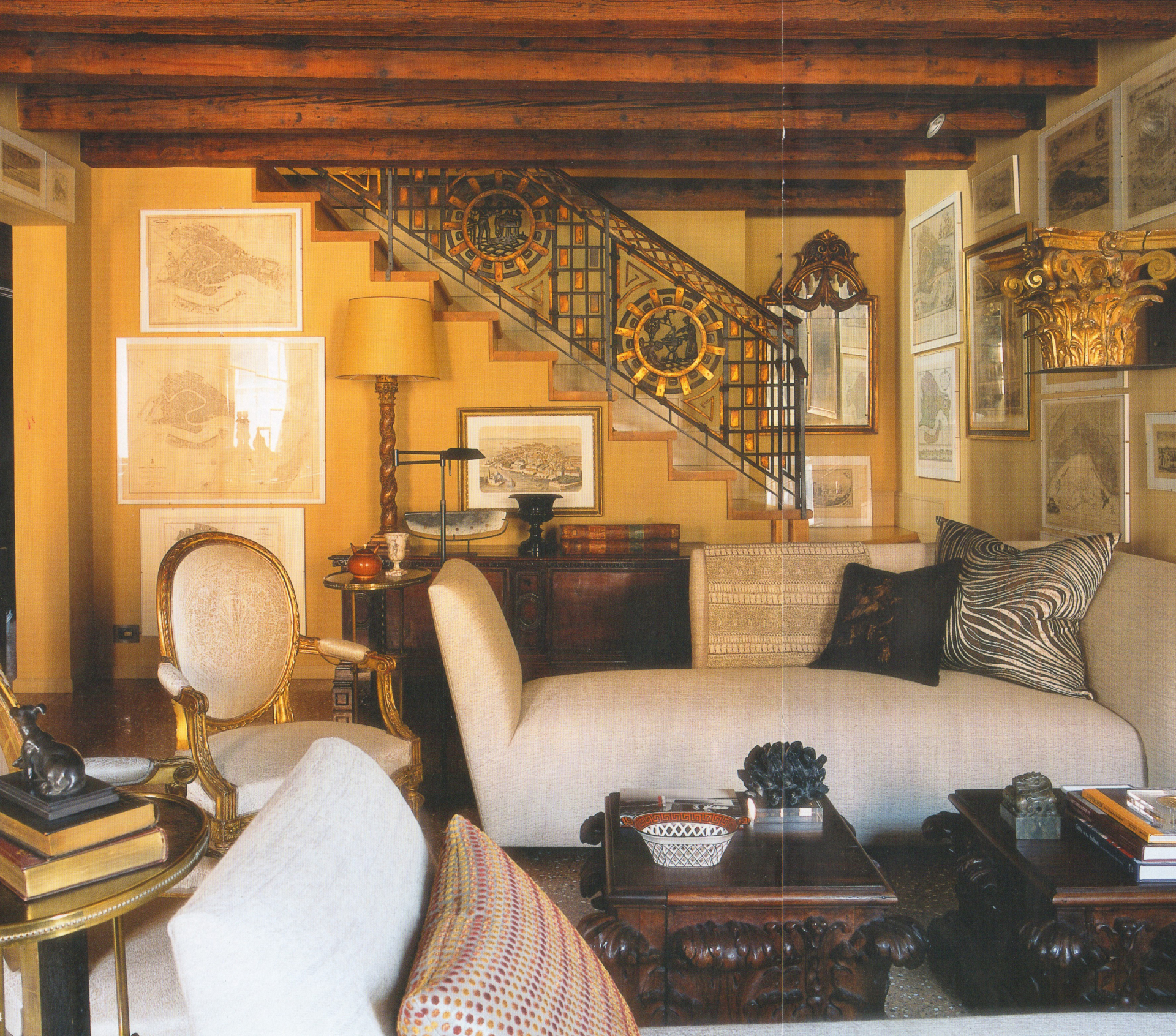 Private Residence, Venice, Living Room