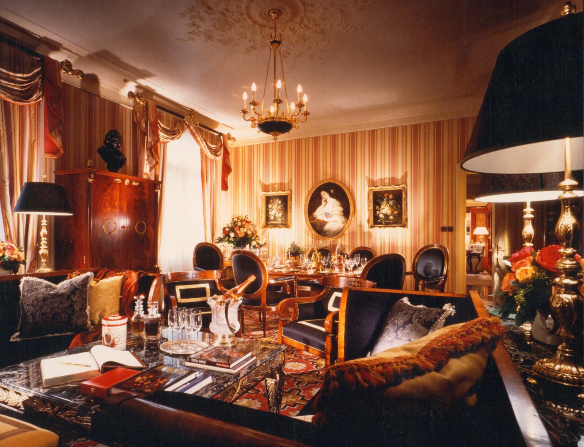 The Grande Bretagne Athens Suite Lobby