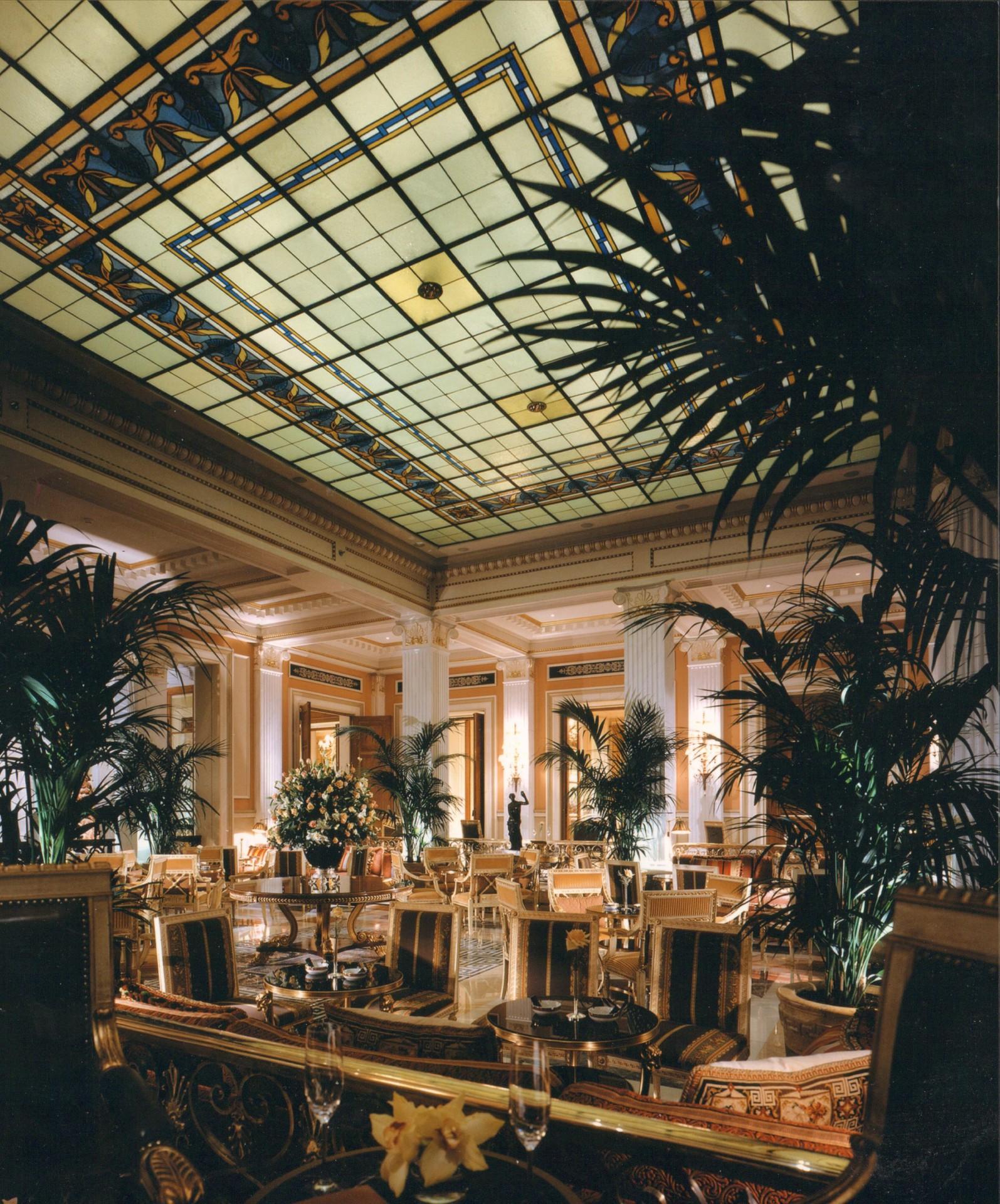 The Grande Bretagne Athens Lobby